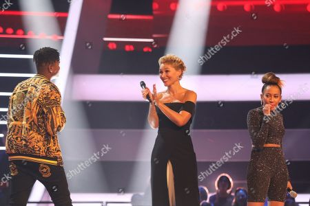 Team Will: Gabriel and Shivon Kane perform. Will chooses Gabriel to go through to the next round. With Emma Willis