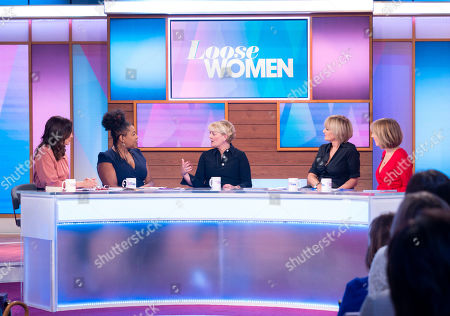 Editorial photo of 'Loose Women' TV show, London, UK - 08 Mar 2019