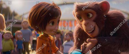 June (Brianna Denski) and Peanut (Norbert Leo Butz)