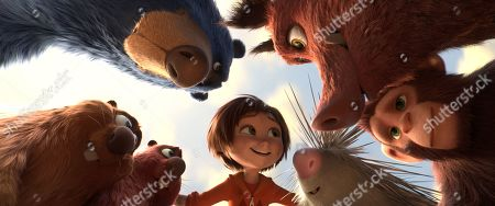 Boomer (Ken Hudson Campbell), Greta (Mila Kunis), Peanut (Norbert Leo Butz), Steve (John Oliver), June (Brianna Denski), Cooper (Ken Jeong) and Gus (Kenan Thompson)