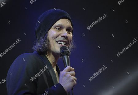 Editorial picture of Ville Valo & Agents in concert at Jamsa, Finland - 02 Mar 2019