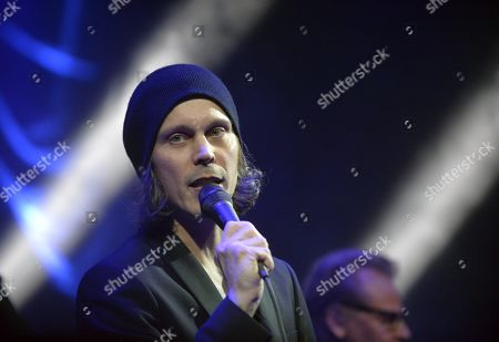 Editorial image of Ville Valo & Agents in concert at Jamsa, Finland - 02 Mar 2019