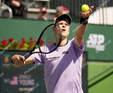Editorial image of BNP Paribas Open tennis tournament, Indian Wells, USA - 08 Mar 2019