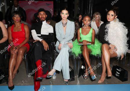 Monique Coleman, Kalen Allen, Amanda Steele, Skai Jackson and Sophia Esperanza