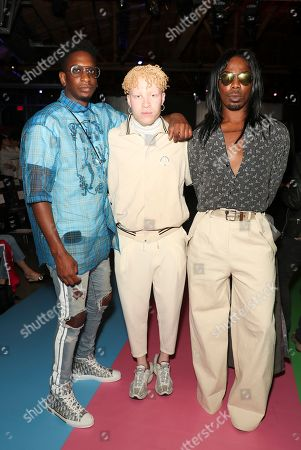 Shaun Ross (C), EJ King (R) and guest