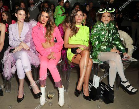 Editorial picture of Christian Cowan x Powerpuff Girls Runway Show, Inside, City Market Social House, Los Angeles, USA - 08 Mar 2019