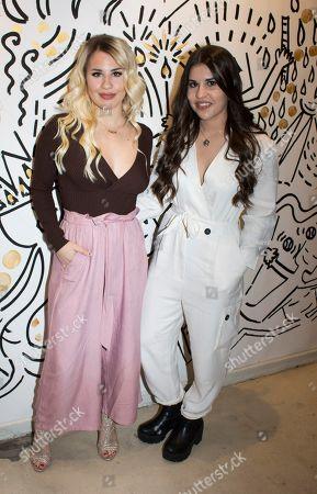 Lucia Gil and Natalia Gil