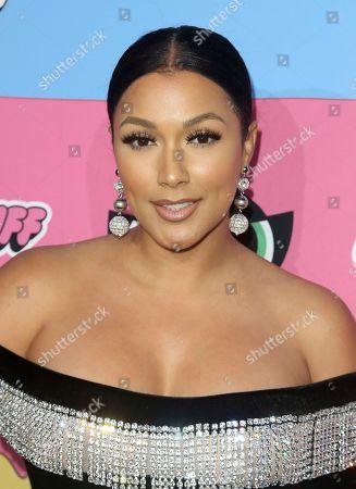Shantel Jackson arrives at the Christian Cowan x The Powerpuff Girls Fashion Show, in Los Angeles