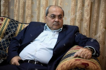 Arab lawmaker Ahmad Tibi speaks during an interview with the Associated Press at his home in Jerusalem. When Prime Minister Benjamin Netanyahu runs into trouble, he has a long history of lashing out at the media, the political opposition and Israel's Arab minority with incendiary and divisive language