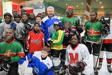 Editorial photo of Legendary ice hockey player Slava Fetisov plays Kenya's ice hockey team in Nairobi - 09 Mar 2019