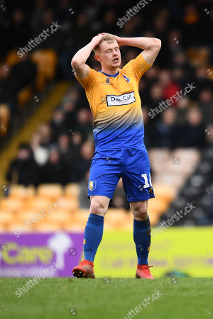 Editorial photo of Port Vale v Mansfield Town, EFL Sky Bet League Two, Football, Vale Park, Stoke-on-Trent, UK - 09 Mar 2019