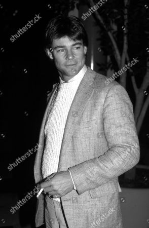 Editorial picture of Jan-Michael Vincent at the Parker Meriden Hotel, New York, USA - 14 Feb 1983