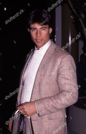 Editorial photo of Jan-Michael Vincent at the Parker Meriden Hotel, New York, USA - 14 Feb 1983
