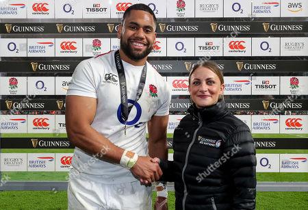 Editorial photo of 2019 Guinness Six Nations Championship Round 4, Twickenham, London, England  - 09 Mar 2019