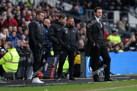Editorial picture of Derby County vs Sheffield Wednesday. Skybet EFL Championship. Pride Park Stadium, Derby. UK.  10 March 2019