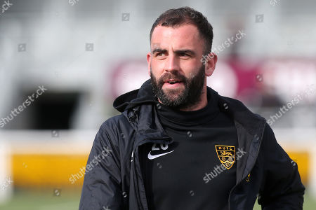 Maidstone United's Player/Coach, Simon Walton during Maidstone United vs Havant and Waterlooville, Vanarama National League Football at the Gallagher Stadium on 9th March 2019