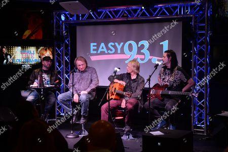 DJ Mike Kruz, Lou Gramm, Jeffrey Kollman, John Payne
