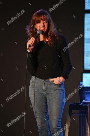 Editorial photo of Eleanor Kerrigan comedy show at The Boca Black Box Center for the Arts, Boca Raton, USA - 07 Mar 2019