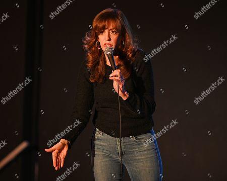 Editorial image of Eleanor Kerrigan comedy show at The Boca Black Box Center for the Arts, Boca Raton, USA - 07 Mar 2019