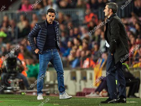 Rayo Vallecano manager Miguel Angel Sanchez Michel