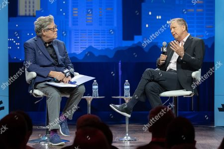 David Maraniss and Former Governor John Kasich speak during the 2019 SXSW conference and Festivals at ACL Live