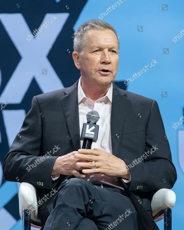 Editorial picture of Conversations About America's Future: Former Governor John Kasich, SXSW Festival, Austin, USA - 09 Mar 2019