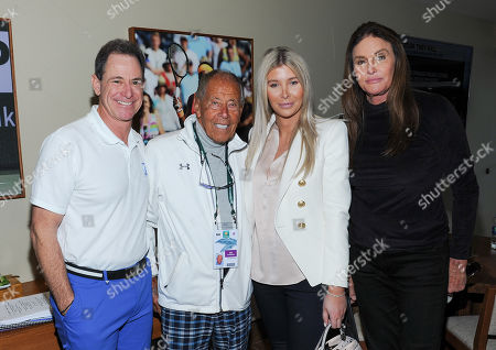 Editorial picture of Tennis Channel Suite at the BNP Paribas Open, Indian Wells, USA - 09 Mar 2019