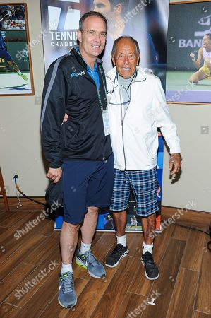 Editorial photo of Tennis Channel Suite at the BNP Paribas Open, Indian Wells, USA - 09 Mar 2019