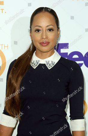 Essence Atkins arrives at the 50th NAACP Image Awards Nominees Luncheon at the Loews Hotel, in Los Angeles