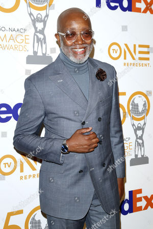 Jonathan Slocumb poses for the photographers upon arrival for the 50th NAACP Image Awards Nominees Luncheon at the Loews Hollywood Hotel in Hollywood, California, USA, 09 March 2019. The NAACP (National Association for the Advancement of Colored People) Image Awards honor excellence in television, recording and motion picture categories.