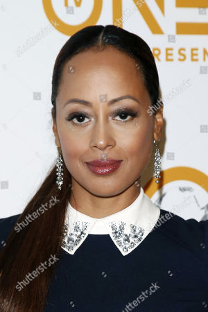 Essence Atkins poses for the photographers upon her arrival for the 50th NAACP Image Awards Nominees Luncheon at the Loews Hollywood Hotel in Hollywood, California, USA, 09 March 2019. The NAACP (National Association for the Advancement of Colored People) Image Awards honor excellence in television, recording and motion picture categories.