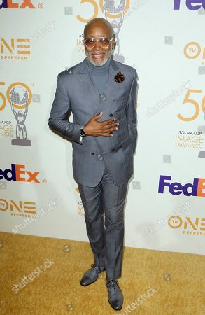 Jonathan Slocumb arrives at the 50th NAACP Image Awards Nominees Luncheon at the Loews Hotel, in Los Angeles