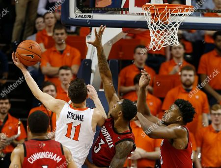 Editorial photo of Louisville Virginia Basketball, Charlottesville, USA - 09 Mar 2019