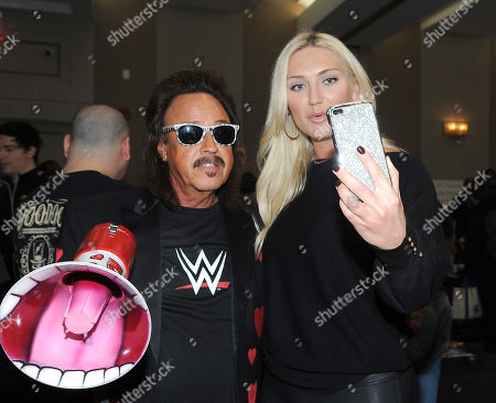 Stock Picture of Jimmy Hart and Brooke Hogan