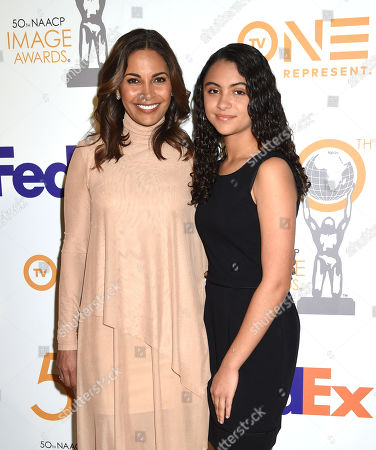 Salli Richardson-Whitfield and daughter Parker Richardson Whitfield