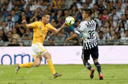 Editorial photo of Rayados de Monterrey vs Tigres, Mexico - 09 Mar 2019