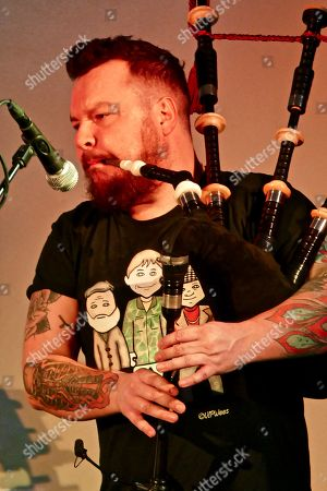Editorial picture of Treacherous Orchestra and Folk Duo in concert at Emsworth Social Club, Hampshire, UK - 09 Mar 2019