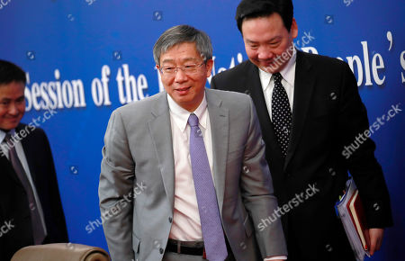 Editorial photo of People's Bank of China press conference, Beijing - 10 Mar 2019