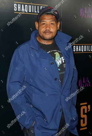 Omar Benson Miller arrives at the Grand Opening of Shaquille's at LA Live, in Los Angeles