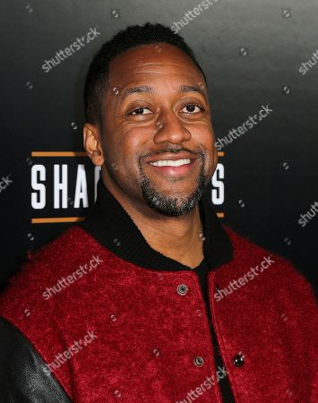Jaleel White arrives at the Grand Opening of Shaquille's at LA Live, in Los Angeles