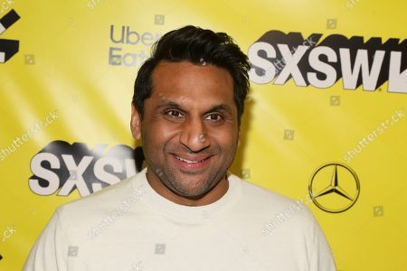 "Ravi Patel arrives for the world premiere of ""Long Shot"" at the Paramount Theatre during the South by Southwest Film Festival, in Austin, Texas"