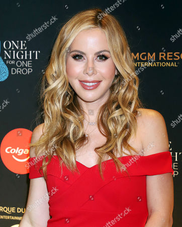 Editorial photo of 'One Night For One Drop' charity event, Las Vegas, USA - 08 Mar 2019