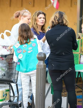 Editorial picture of Laura San Giacomo out and about, Los Angeles, USA - 09 Mar 2019