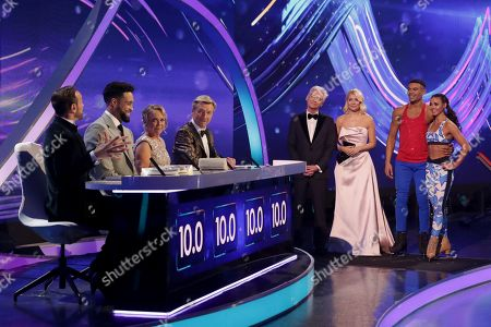 Jason Gardiner, Ashley Banjo, Jayne Torvill, Christopher Dean, Phillip Schofield, Holly Willoughby, Wes Nelson and Vanessa Bauer