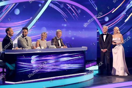 Jason Gardiner, Ashley Banjo, Jayne Torvill, Christopher Dean, Phillip Schofield and Holly Willoughby