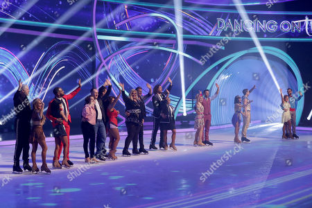 Editorial image of 'Dancing on Ice' TV show, Series 11, Episode 10, Hertfordshire, UK - 10 Mar 2019