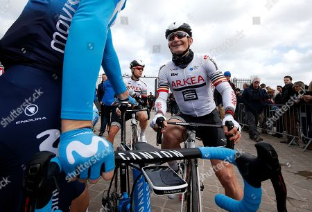 German rider Andre Greipel of Team Arkea - Samsic attends the start of the first stage of the Paris-Nice cycling race over 138.5km from Saint-Germain-en-Laye  to Saint-Germain-en-Laye, France, 10 March 2019.