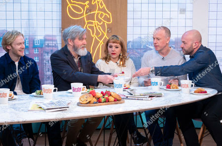 Jonnie Peacock, James Fleet, Kerry Godliman, Tim Lovejoy, Simon Rimmer