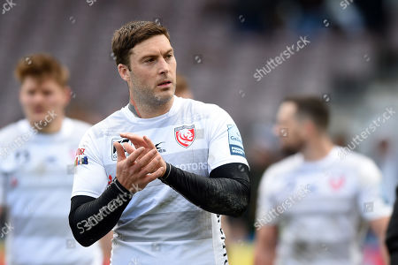 Matt Banahan of Gloucester Rugby looks on after the match