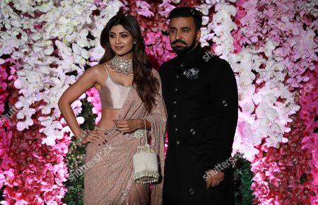 Editorial photo of Wedding reception of Akash Ambani in Mumbai, India - 10 Mar 2019